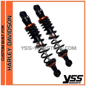 2-4 - Shockabsorbers CUSTOM BUILT RE-HD-302-T color BLACK/ORANGE