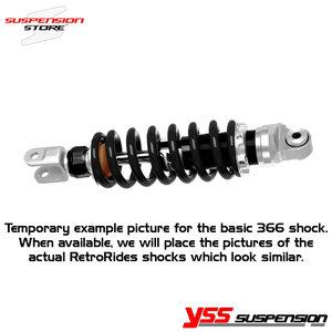 14-2 RetroRides shock absorber - Full black custom series