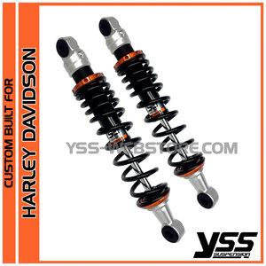 2-2 - Shockabsorbers CUSTOM BUILT RE-HD-302-T color ALU/ORANGE